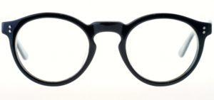 ボストン型メガネ