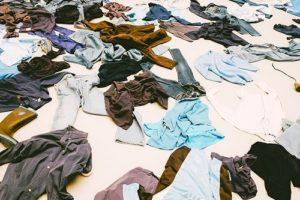 服を減らす